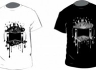 mini black and white tshirt vector 144587 190x140 in  | Grapheez